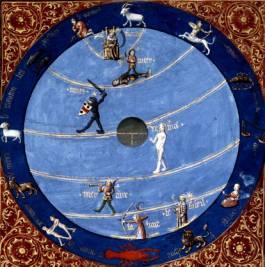 miniature du XIVe s, Bibl. Nale, archives Snark-Oasis