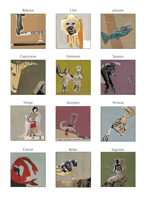 zodiaque illustré par Galou