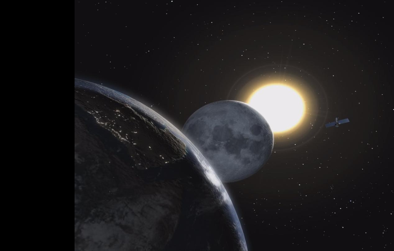 rencontre entre le soleil et la lune